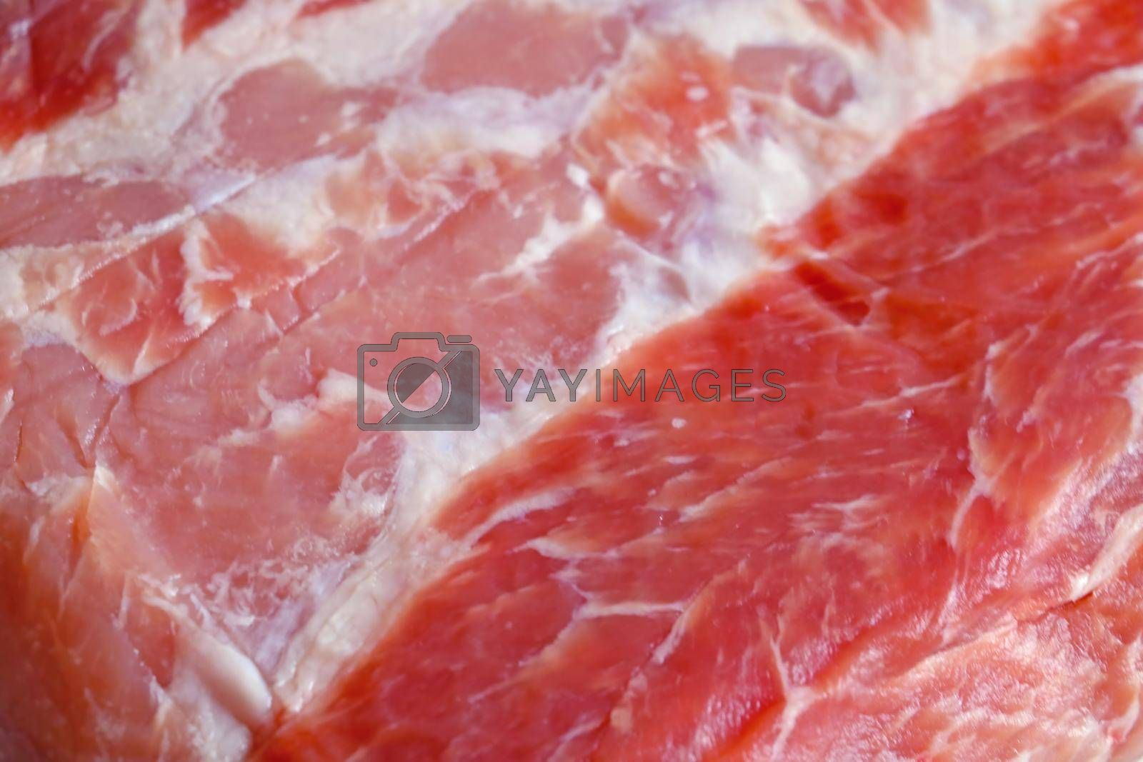 Royalty free image of Close-up on a piece of meat on the table. Texture. by kip02kas