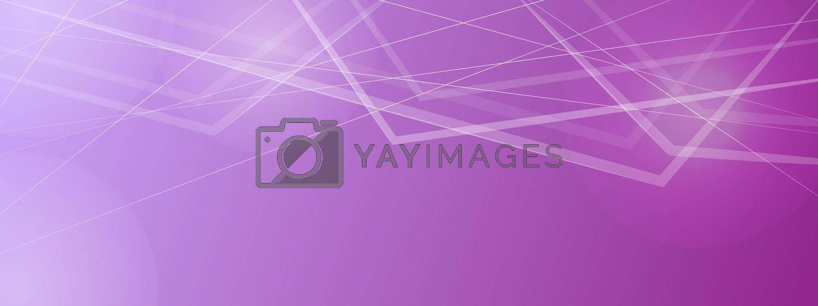 Abstract purple background with overlapping arbitrary shapes. Gradient purple background template for banners, cards, posters. Creative design.