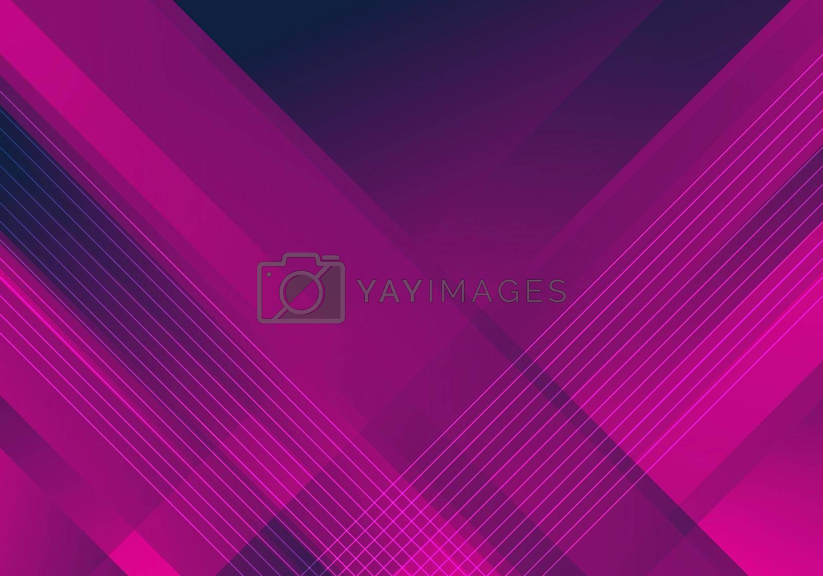 Royalty free image of Abstract pink and blue diagonal stripes line gradient shapes background and texture by phochi