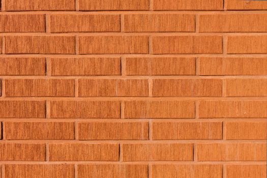 Decorative design facade brick wall background