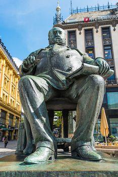 christian krohg statue