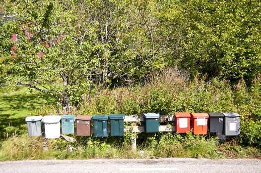 Mailboxes in Sweden