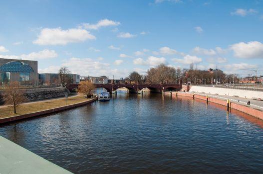 Bridge over river Spree