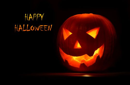 Halloween pumpkin creepy holyday background