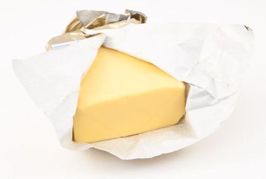 Semi closed pat of butter