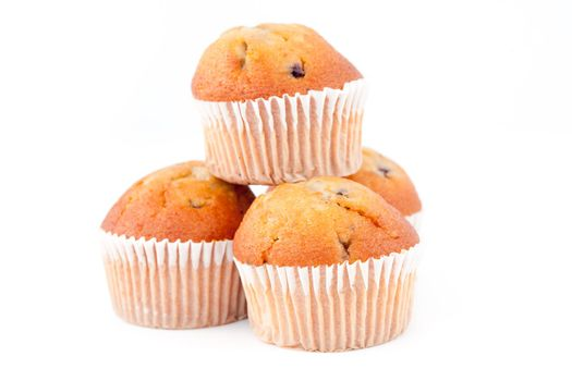 Pyramid of muffins