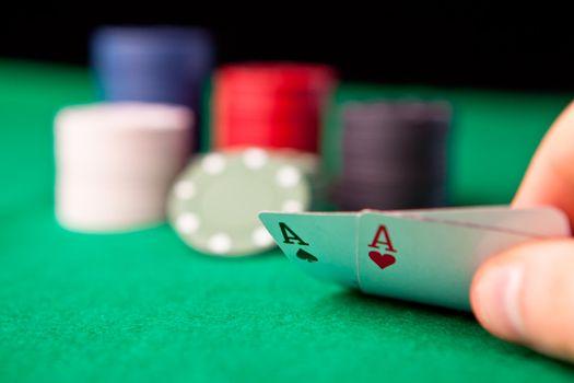 Rockets in poker