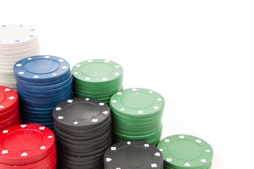 Coins of poker