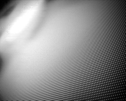 Background of multiple grey dots