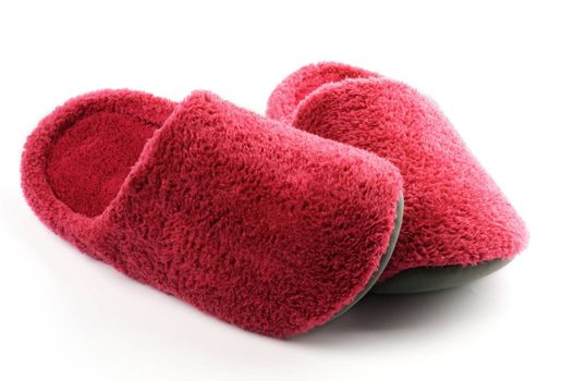 Magenta Slippers Confuse
