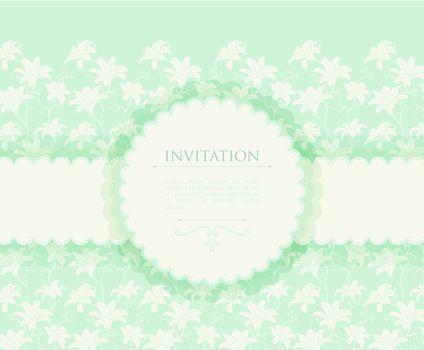 Vector illustration of Invitation