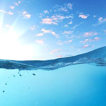 sundown seascape