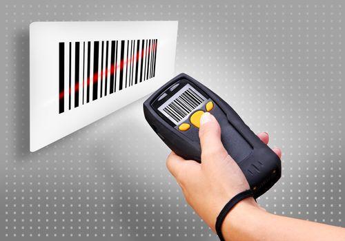 Handheld Computer for wireless barcode scanning identification Handheld Computer for wireless barcode scanning identification