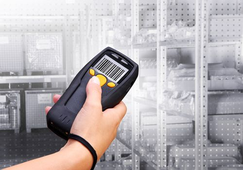 Handheld Computer for wireless barcode scanning identification