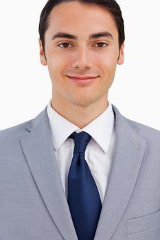 Close-up of a good-looking man