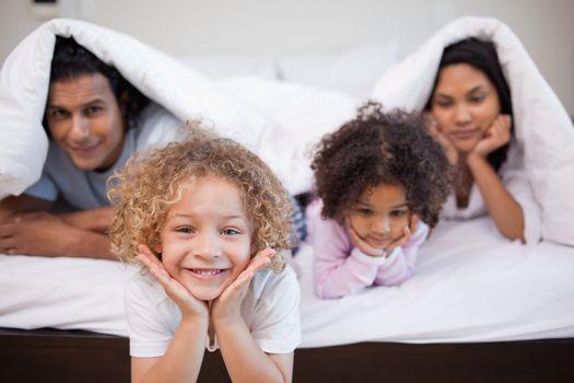 Kids woke their parents