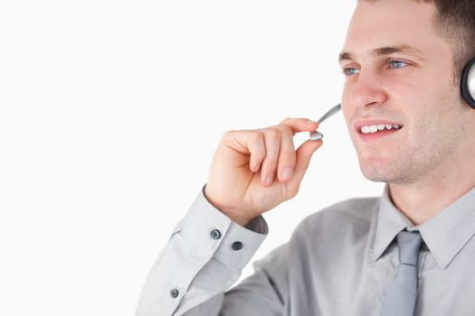 Assistant using a headset