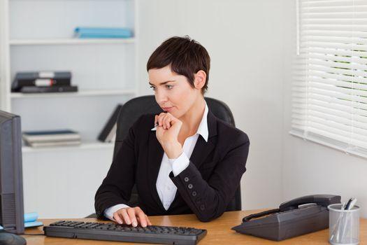 Focused secretary
