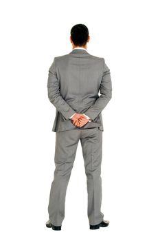 businessman behind