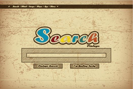 vintage search page background with grunge effect