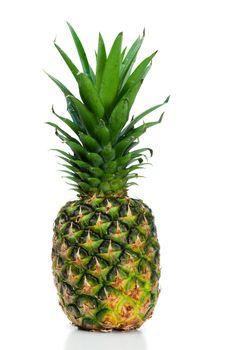 Angled pineapple upright