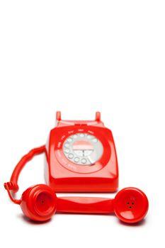 Fashion red telephone