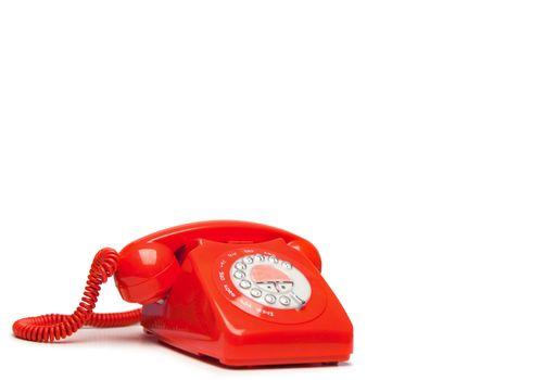 Fashion red phone