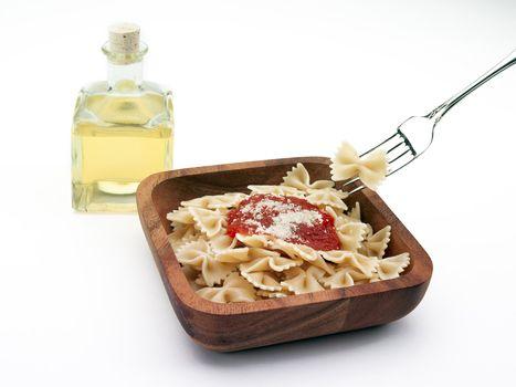 bowtie pasta bowl
