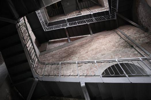 Obsolete stairway