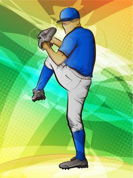 Basbeball Pitcher