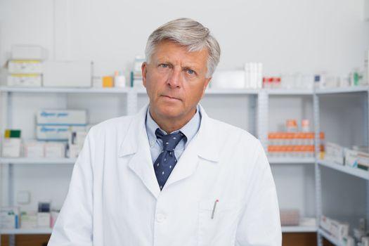 Doctor in a pharmacy