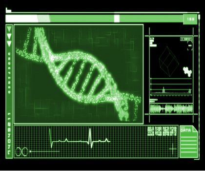 DNA Helix interface