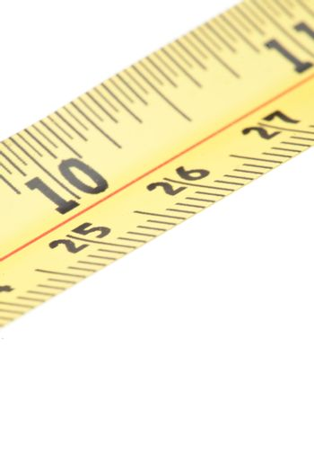 Section of measuring tape