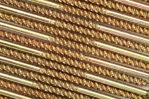 Sector of golden screws