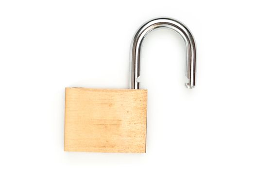 Lock standing unlocked