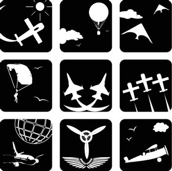 Icons for aviation