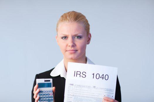Filling in tax returns
