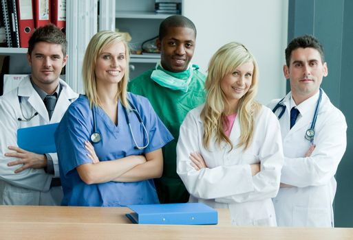 Portrait of a medical staff