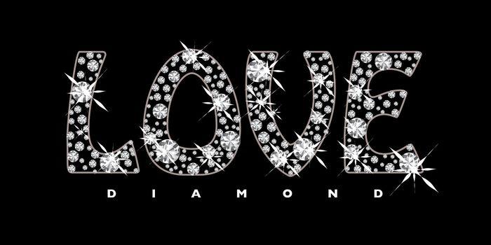 Love diamond icon