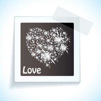 Paper tape love tag