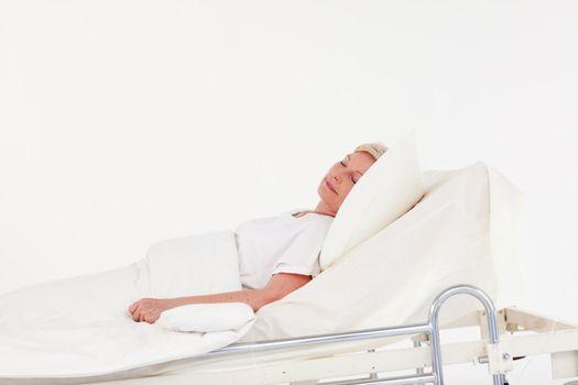 Senior Woman with illness