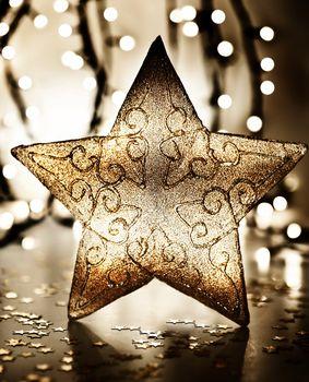 Star, Christmas tree ornament