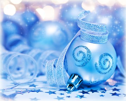Christmas tree bauble ornament and decoration