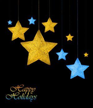 Decorative stars border