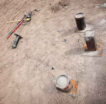 Filled Explosive Mortars