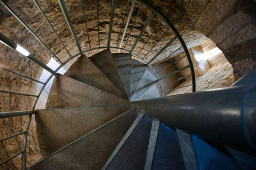Medieval spiral staircase