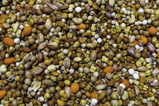 Mix of Turkish peanuts