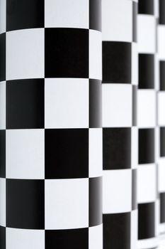Checkered Colonnade