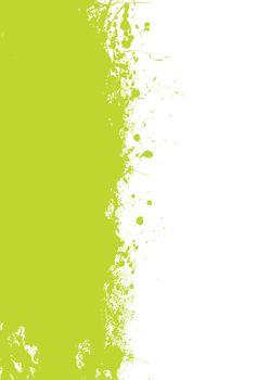 Green splat grunge