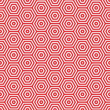 Retro red seamless pattern background